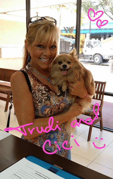 Spreading Happiness with Trudi & Cici